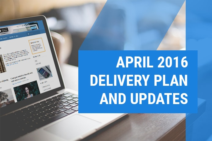 April 2016 delivery plan, Free Joomla Template &