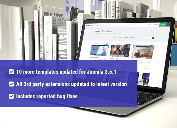 10 More Joomla Templates updated for Joomla 3.5.1&